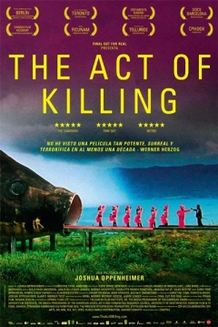 Poster The Act of Killing