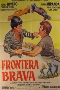 Poster Frontera brava