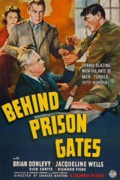 Poster Behind Prison Gates
