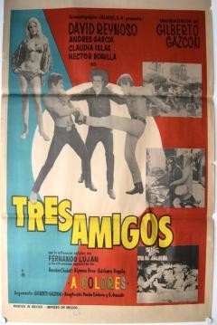 Poster Tres amigos
