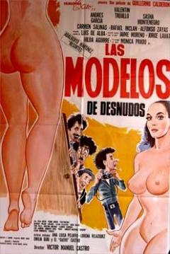 Poster Las modelos de desnudos
