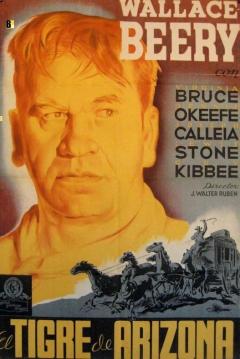 Poster El Tigre de Arizona