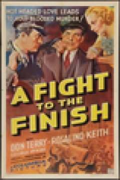 Poster A Fight to the Finish