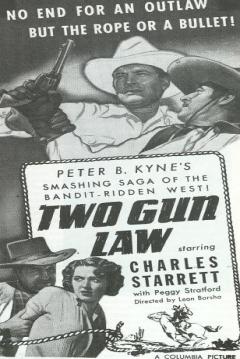 Poster Two Gun Law