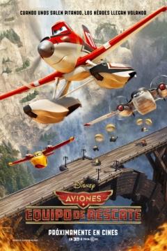 Poster Aviones: Equipo de Rescate (Aviones 2)