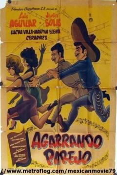 Poster Agarrando Parejo