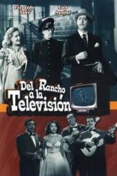 Poster Del rancho a la televisión