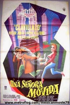 Poster Una señora movida