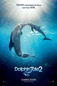Poster La Gran Aventura de Winter el Delfín 2