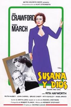 Poster Susana y Dios