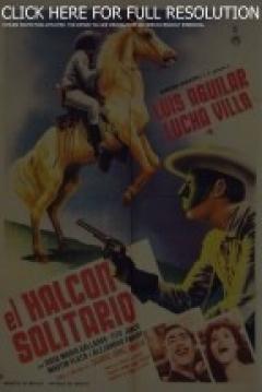 Poster El halcón solitario