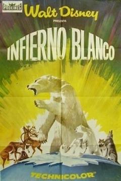 Pel 237 Cula Infierno Blanco Desierto Blanco 1958 White Wilderness El Artico Salvaje
