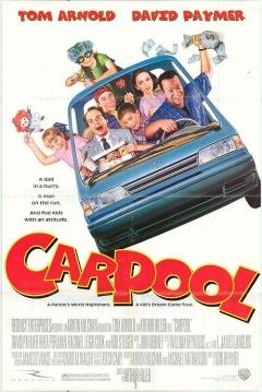 Poster Carpool, Todos al Coche