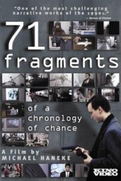 Poster 71 Fragmentos de una Cronología del Azar