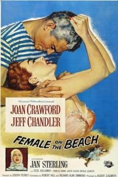 Poster Una Mujer en la Playa