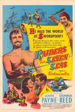 Poster El Pirata de los Siete Mares