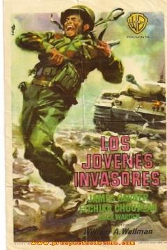 Poster Los Jóvenes Invasores