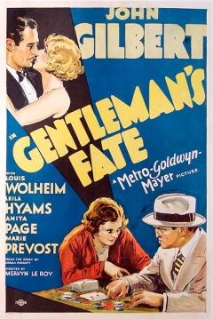 Poster Gentleman's Fate