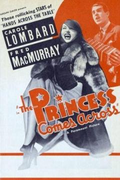 Poster The Princess Comes Across