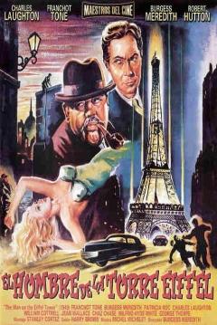 Poster El Hombre de la Torre Eiffel