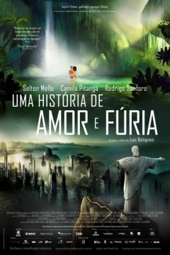 Poster Rio 2096: Una Historia de Amor y Furia