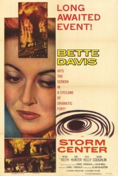 Poster Storm Center