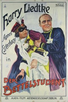 Poster El estudiante pobre