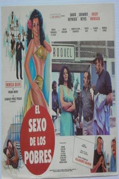 Poster El sexo de los pobres