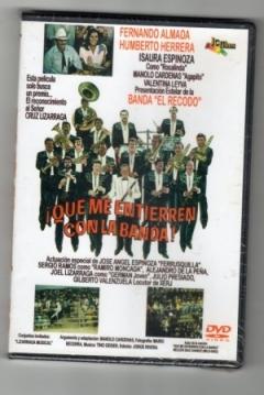 Poster Que me entierren con la banda