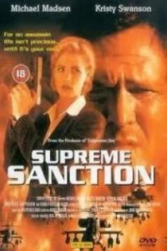 Poster Sanción suprema