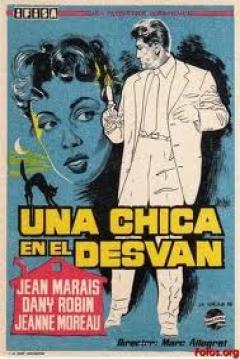 Poster Una chica en el desván