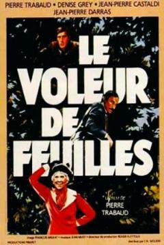 Poster Le voleur de feuilles