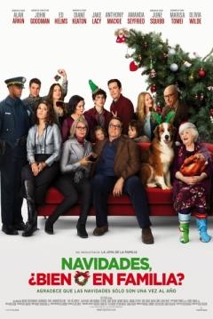 Poster Navidades, ¿Bien o en Familia?