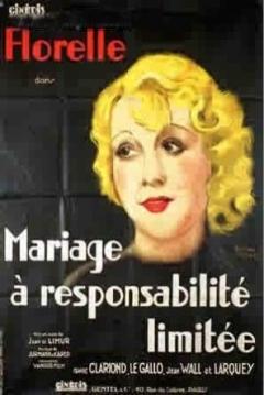 Poster Mariage à responsabilité limitée