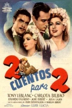 Poster Dos Cuentos para Dos
