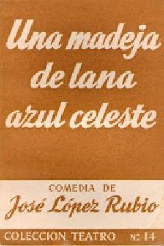 Poster Una Madeja de Lana Azul Celeste