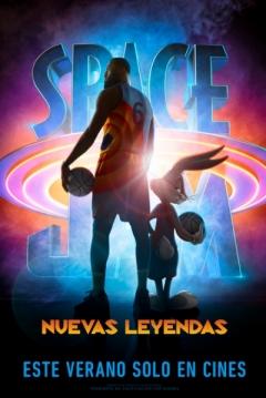 Poster Space Jam 2: Nuevas Leyendas