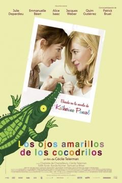 Poster Los Ojos Amarillos de los Cocodrilos