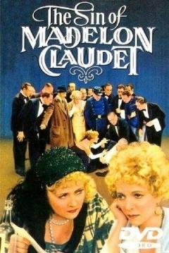 Poster El Pecado de Madelon Claudet