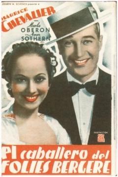 Poster El Caballero del Folies Bergere