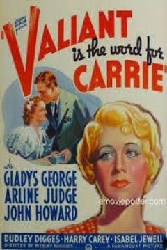 Poster Valiant is the Word for Carrie