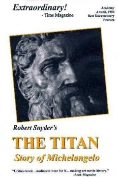 Poster The Titan: Story of Michelangelo