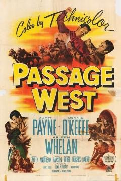 Poster Pasaje al Oeste