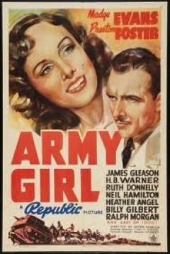 Poster Army Girl