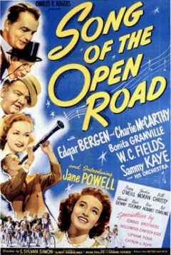 Poster Song of the Open Road