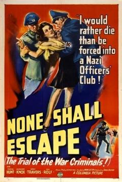 Poster None Shall Escape