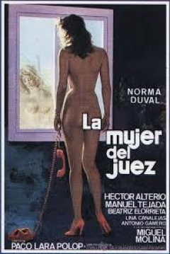 Poster La Mujer del Juez