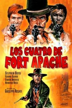 Poster Los Cuatro de Fort Apache