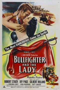 Poster Bullfighter and the Lady