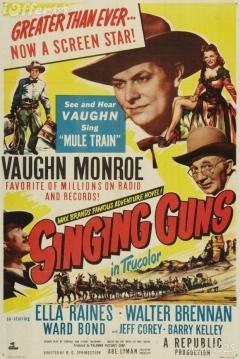 Poster Singing Guns